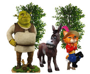 Ouger Cartoon Package Life Size Resin Statues