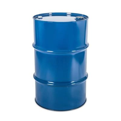 Barrel Metal Blue Life Size Super Hero Prop Decor - LM Prop Rentals