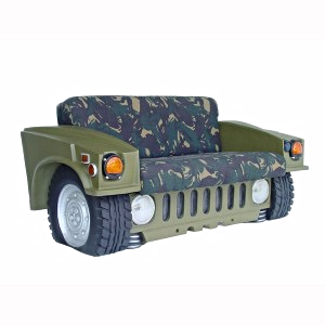 Sofa Car Hummer Furniture Prop Resin Decor Statue - LM Treasures Prop Rentals