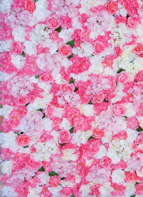 Artificial Flower Backdrop Garden Prop Decor - LM Prop Rentals