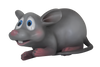 Comic Mouse Hungry Resin Statue Movie Prop Decor - LM Treasures Prop Rentals