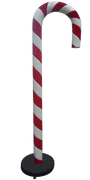 Candy Cane 220cm Red and White Over sized Display Resin Prop Decor Statue - LM Treasures Prop Rentals
