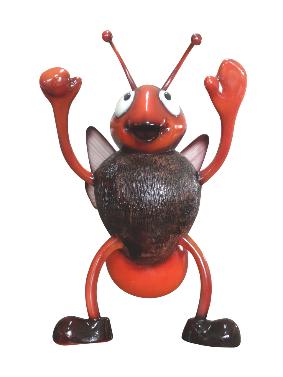 Comic Insect Bee Bug Animal Prop Resin Decor Statue - LM Treasures Prop Rentals