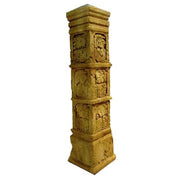 Column Aztec Pilaster Greek Roman Prop Resin Decor - LM Treasures Prop Rentals