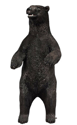 North American Black Bear Standing Life Size Prop Resin Statue