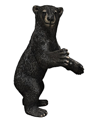 Bear Black North American Baby Cub Life Size Prop Resin Statue
