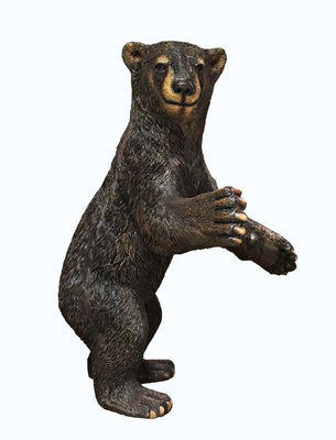 Brown Grizzly Bear Baby Cub Life Size Prop Resin Statue