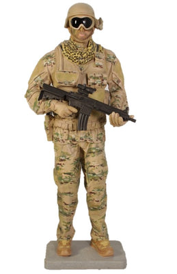 Soldier Tatical Life Size Military Prop Resin Decor Statue