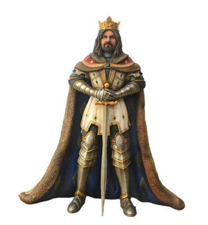 King Arthur Life Size Mythical Prop Decor Resin Statue