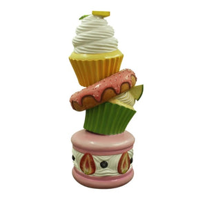 Cupcake Tower Over Sized Statue