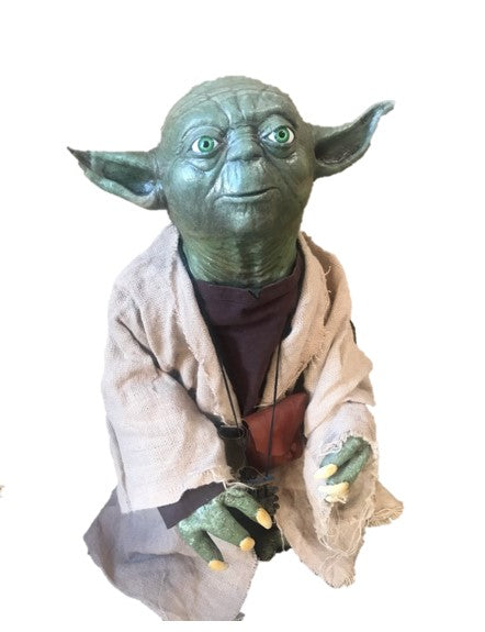 Star Wars Yoda # 2 Life Size Movie Replica Prop Resin Statue