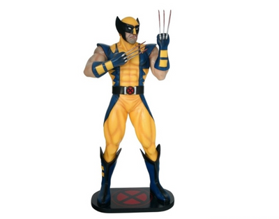 Super Hero Logan Life Size Prop Decor Statue - LM Treasures Prop Rentals