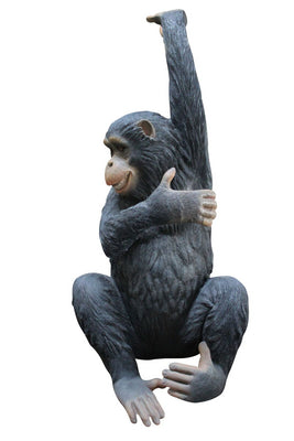 Monkey Bing Animal Prop Resin Decor Statue - LM Treasures Prop Rentals
