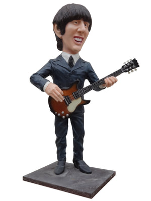 Beatle G. Hairspray Display Prop Decor Resin Statue - LM Prop Rentals