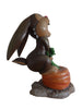 Comic Rabbit Bunny with Carrot Display Resin Prop Decor Statue - LM Treasures Prop Rentals