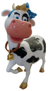 Comic Cow Miss Teenage Display Prop Decor Resin Statue