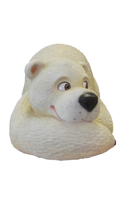 Comic Bear Polar Mama Animal Prop Life Size Decor Resin Statue - LM Prop Rentals