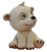 Comic Bear Polar Sadie Animal Prop Life Size Decor Resin Statue - LM Treasures Prop Rentals