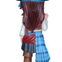 Pirate Child Girl Patty Life Size Statue Resin Decor