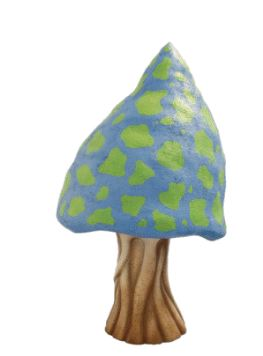 Mushroom Fantasy # 3 Prop Decor Statue - LM Treasures Prop Rentals