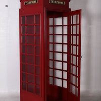 British Phone Booth Life Size Statue