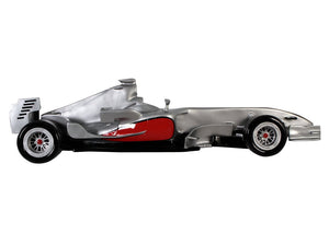 McLaren Race Car Wall Decor Statue
