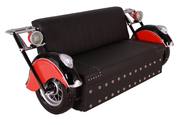 Sofa Motorcycle Vintage Furniture Prop Resin Decor Statue