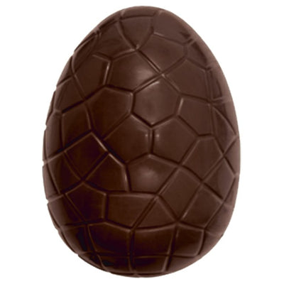 Chocolate Candy Easter Egg Patterned Over sized Display Resin Prop Decor Statue - LM Treasures Prop Rentals