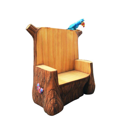 Chair Garden Throne Fairy Prop Life Size Resin Christmas Statue - LM Prop Rentals