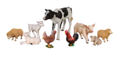 Baby Farm Set Life Size Resin Statues