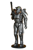 Galactic Robot Life Size Statue