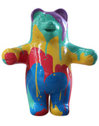 Large Drip Gummy Bear Over Sized Statue