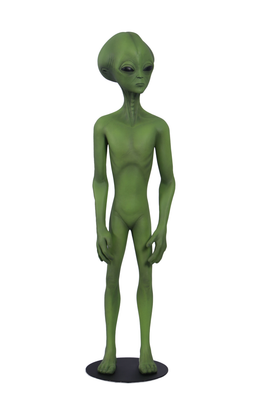 Green Alien Roswell Life Size Statue