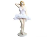 Celebrity Monroe Actress Life Size Movie Hollywood Prop Decor Statue - LM Prop Rentals