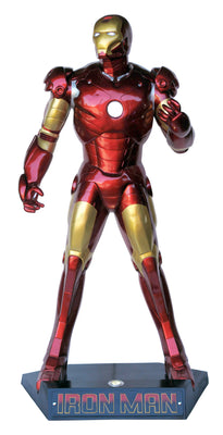 Iron Super Hero Life Size Statue