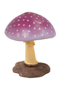 Medium Purple Mushroom Over Sized Statue