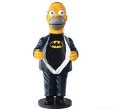 Cartoon Celebrity Yellow Man Homer Movie Hollywood Prop Decor Statue - LM Prop Rentals
