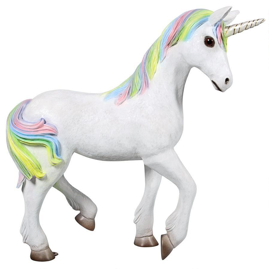 Unicorn Small Prop Decor Statue