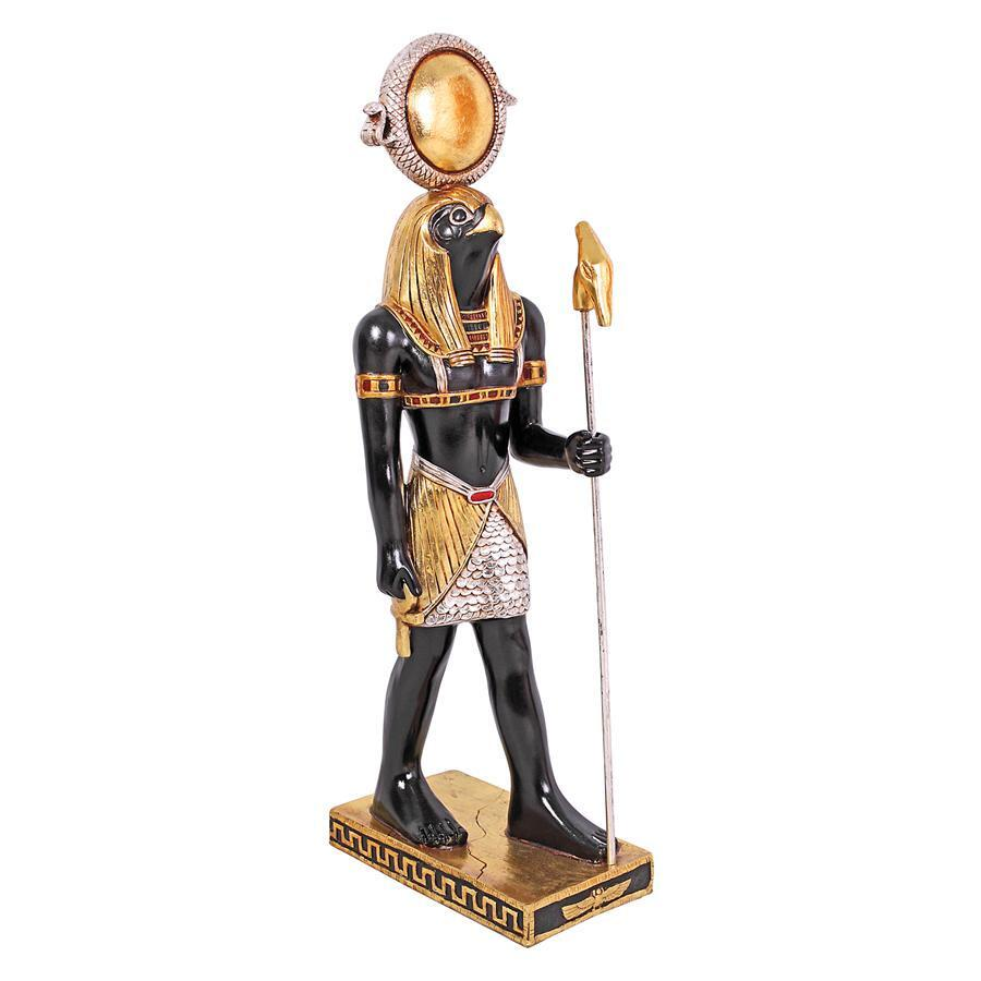 Egyptian Horus Small Prop Decor Resin Statue - LM Treasures Prop Rentals