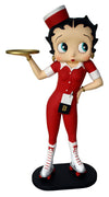 Betty Boop Waitress Small Statue