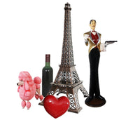 Paris Package Life Size Resin Statues - LM Treasures Prop Rentals