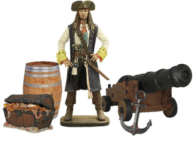 Pirate Package Life Size Resin Statues - LM Treasures Prop Rentals