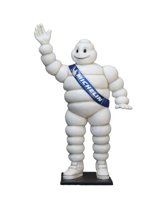 Tire Man Life Sizes Statue