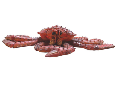 Crab King Nautical Prop Ocean Prop Beach Statue - LM Treasures Prop Rentals