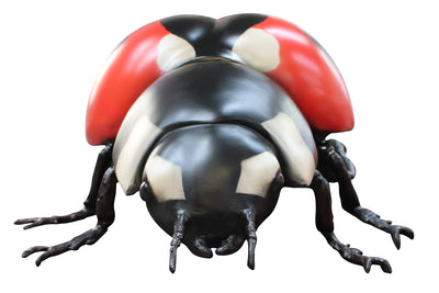 Insect Lady Bug Over Sized Bug Prop Resin Decor Statue - LM Treasures Prop Rentals