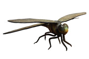 Insect Dragonfly Over Sized Bug Prop Resin Decor Statue - LM Treasures Prop Rentals