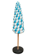 Twister Cone Lollipop Candy Mini Blue Statue - LM Prop Rentals