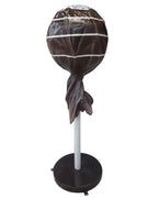 Mini Lollipop Candy Brown Jumbo Over Sized Prop Decor Statue - LM Prop Rentals