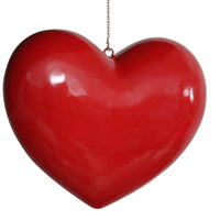 Heart Over sized Prop Decor Statue - LM Prop Rentals