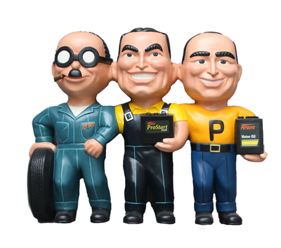 Mechanic Wall Decor Life Size Statue